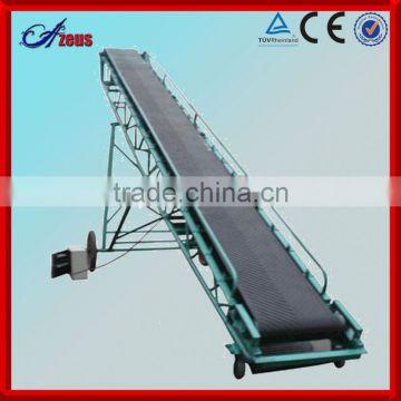 Customized good quality portable belt conveyor conveyor belt roller salt  conveyor