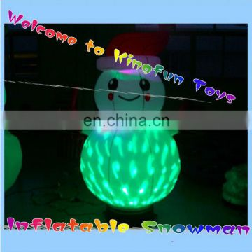 LED inflatable snowman decorations 2014