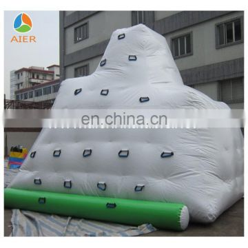 Competitive price iceberg, cheap inflatable iceberg price, 0.9mm PVC inflatable iceberg