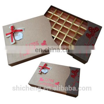 Promotion Factory Price Empty Gift Boxes For Chocolates