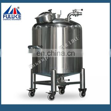 Stainless steel 50 gallon fuel storage water holding tanks