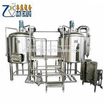 200L craft beer brewery equipment mash system beer brewing line for sale