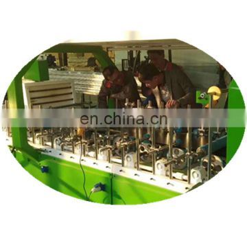 MS-600A  PVC film cold glue wrapping machine for profile 6