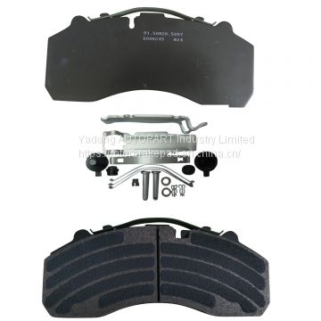 Semi-Metal Truck Spare Part Brake Pad Wva 29087