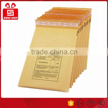 Kraft bubble envelope with pouch enclosed kraft bubble paper envelope bag automatic packing machine