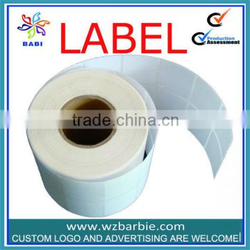 2014 Custom printed price tag and label in rolls