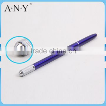 ANY Metal Handle Permanent Makeup Eyebrow Embroidery Manual Tattoo Eyebrow Pen