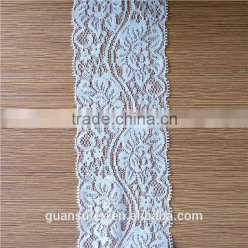 Heavy African Lace Fabric Swiss Voile Timming Lace For Women's Dresses