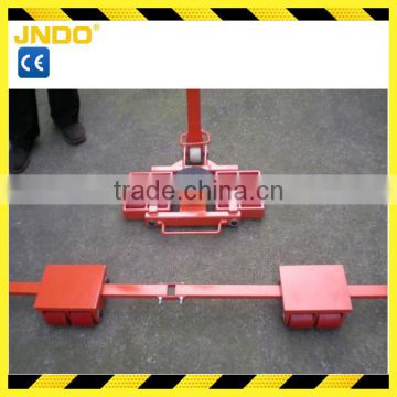 Cargo Transport Trolley With Toe Jack
