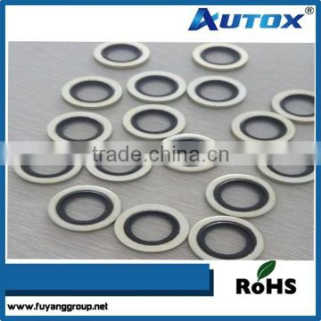 hydraulic high quality self-centering bonded seal/bonded seal washer