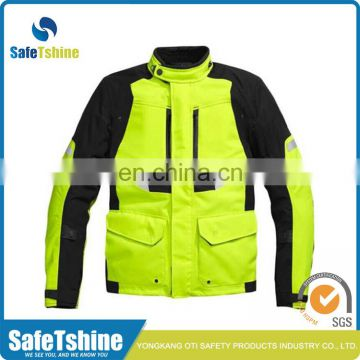Professional manufacture cheap safety airbag high visibility motorcycle jacket