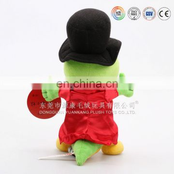 New customized plush story finger puppets with costume and hats