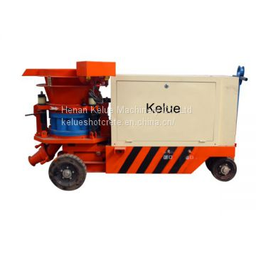 Rockscaping rotor type concrete spray machine
