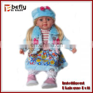 Vivid soft body baby dolls with sound
