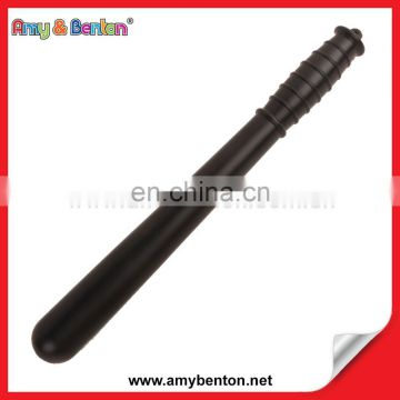 PLASTIC BLACK FAKE TOY BATON POLICE PROP FANCY DRESS PARTY ACCESSORY