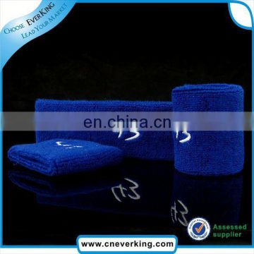 custom terry cotton wristband with zipper holder factory wholesale