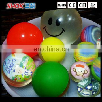 Promotomal goods rubber bouncy ball any size 15mm/30mm
