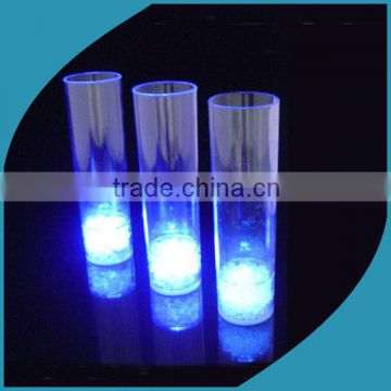 Light up 3 colors beer glass bar ware blinking Led flashing martinis glow led cups for party supplies OEM
