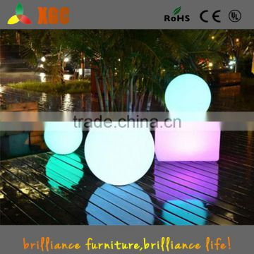 2016 Party supplies colorful led light color changing led ball for design company