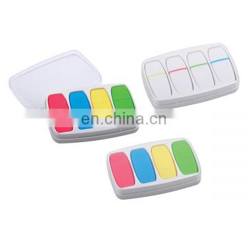 full color sets mini portable highlighter with plastic case