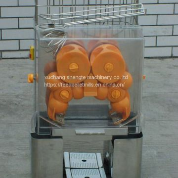 Commercial Automatic Green Lemon Automatic Orange Juicer Machine , Juice Extractor