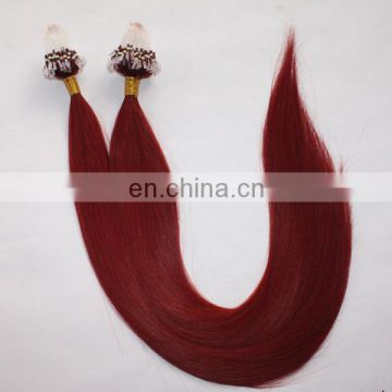 Wholesale high quality fish wire hair extension 100% virgin remy human hair