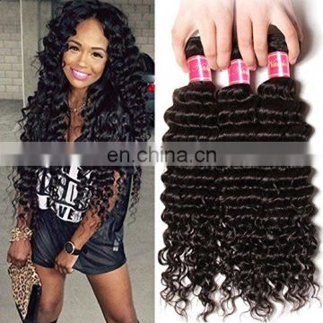 Good Feedback Deep Curl Best Selling High Quality Real Mink Brazilian Hair wholesale human hair human hair bundles with closure