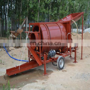 2018 China low cost gold trommel wash plant mobile gold mining machinery used socks knitting machines sale