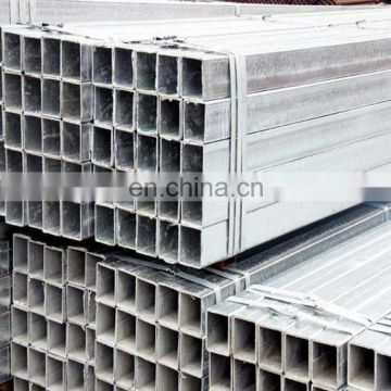 S235JR Pre / hot dipped Galvanized Welded Rectangular Steel Tube/Hollow Section / RHS