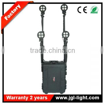 CE RoHS proved rechargeable firefighting equipment fire rescue light battery powered light tower 5JG-RLS58- 160WF