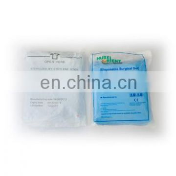 Disposable surgical scrub suit/surgical gown kits /Sterile non moven SMS PP isolation gown sets