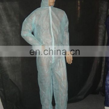 Disposable surgical PP Gown SMS/PP+PE Gown Coverall with hood