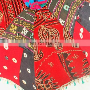 Wholesale Garden Umbrellas Outdoor Patios Hand Embroidery Rajasthani Handmade Indian Parasol