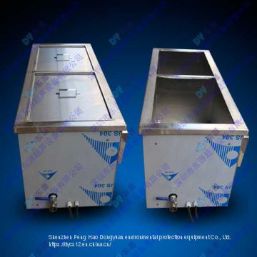 Customized two tanks 28KHz Ultrasonic cleaning machine for industrial production