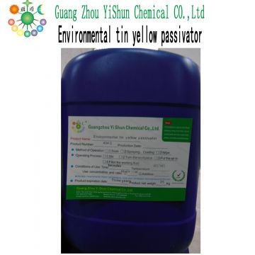 Environmental tin yellow passivator The passivation agent Tin passivator