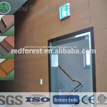 Decorative wpc cladding panel for exterior