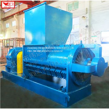 single helix rubber breaking crushing machine