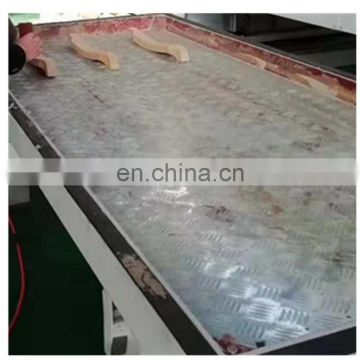 PVC film laminating machine on the door MDF panel vacuum membrane press machine 056