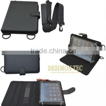 stitching tablet PC leather case cover for Sumsung tab4 7.0 T230 with stand function. LOGO custom shenzhen