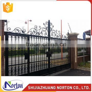 European new fashion carved cast iron gate for sale NTIRG-001LI