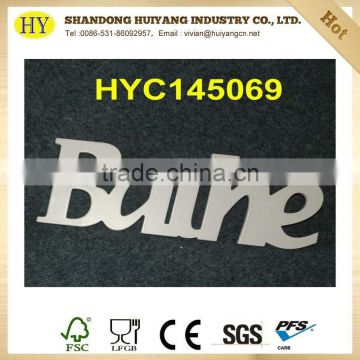 china supplier wholesale lacquered plywood letter