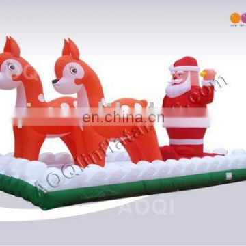New style best seller super quality big discount inflatable christmas products