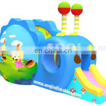 AOQI good quality new design competitive price snail inflatable combo