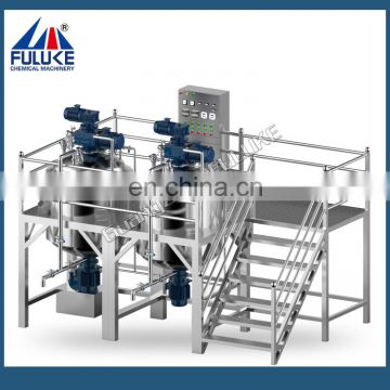 FLK CE Electronic heating hand wash liquid soap making machine,lotion mixing machine