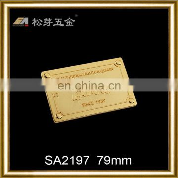 High strength alloy metal clasp for bags
