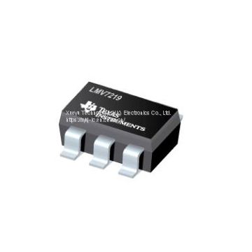 TI LMV7219M5X/NOPB NEW and ORIGINAL 17+ SOT23-5 7 nsec, 2.7V to 5V Comparator with Rail-to- Rail Output