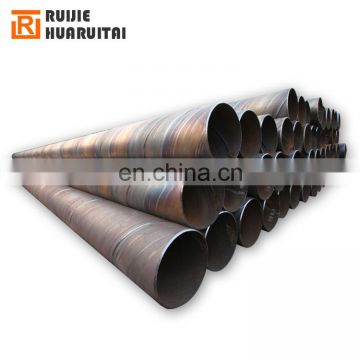 36 inch SSAW spiral welded steel penstock pipe for hydropower