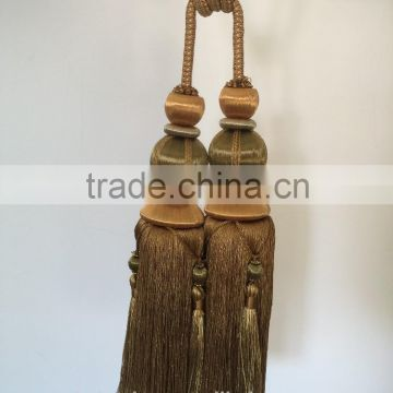 High Quality Wholesalers Curtain Accessory Polyester Material Tassel Trim  Tieback For Home Decor Of Tieback Tassel From China Suppliers   109634215