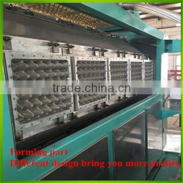 Small Popular Chosen Semi-automatic Paper Recycling Egg Tray Making Machine Price