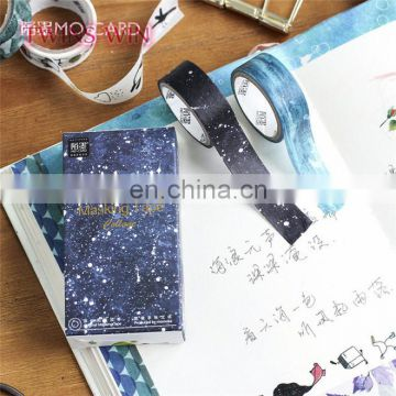 Super quality 2018 Europe and America market hot selling 7m self-adhesive colorful masking paper